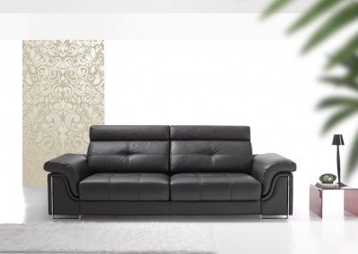 VIANA Leather Sofa