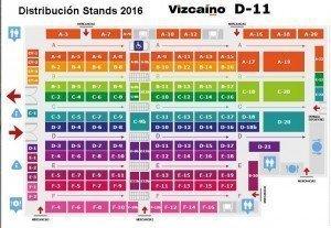 Plano feria Yecla 2016